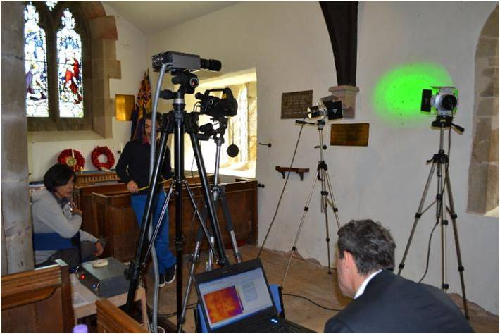 TIMOR: Terahertz Imaging of a Concealed Wall Painting at the Church of St Gregory the Great, Morville, Shropshire, UK
