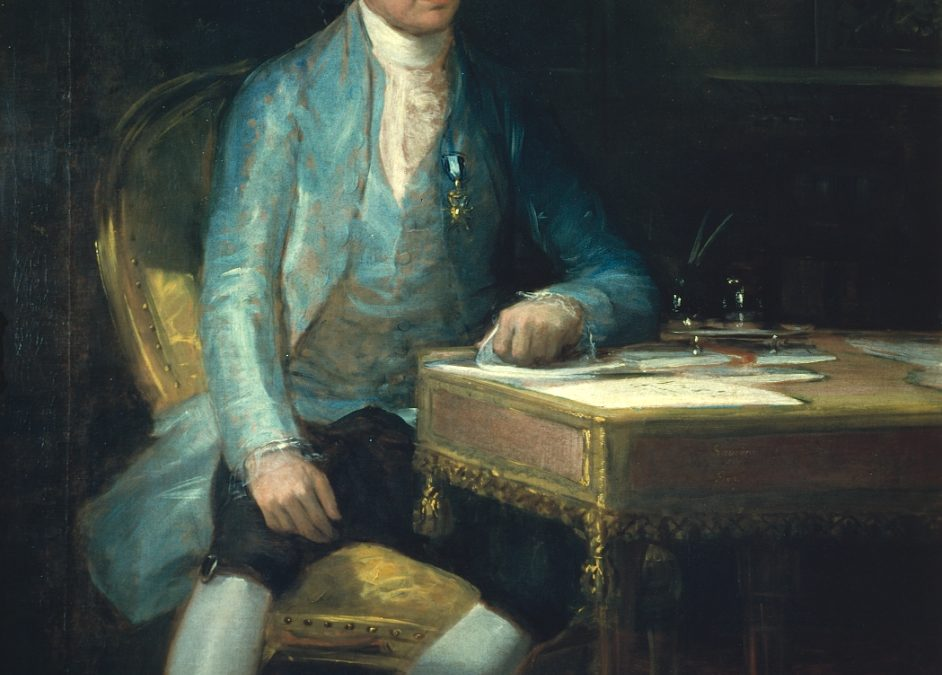 GOYA: review technical documentation of the portrait of Don Francisco de Saavedra at the Courtauld Gallery