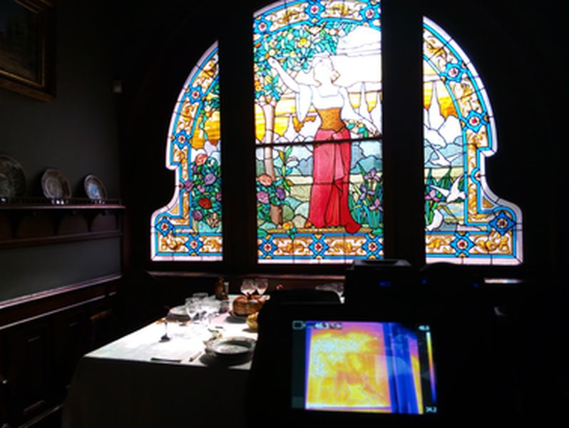 CMAG-Glass:Assessment of the Art Nouveau glass windows from the Casa-Museu Dr. Anastácio Gonçalves (Portugal)