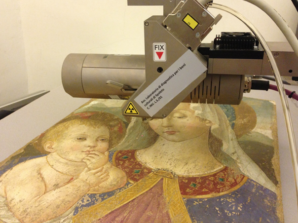 Micro XRF scanning