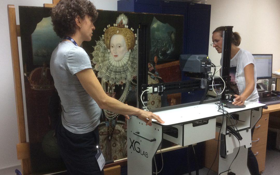 Hidden Armadas in the Armada Portrait of Elizabeth I