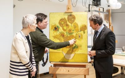 Vincent van Gogh's famous Sunflowers can not travel anymore