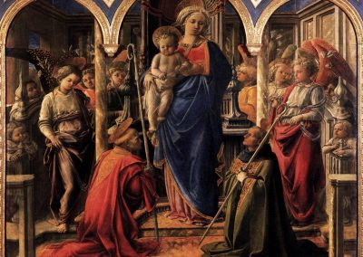"Barbadori ""pala"" and Martelli Annunciation by Filippo Lippi. A comparative study on the paintings technique supported by scientific analyses"
