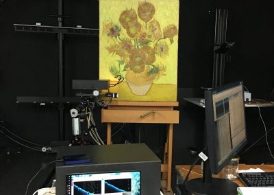 "SUNMIX: Systematic investigation of ""Sunflowers"" by Vincent van Gogh"
