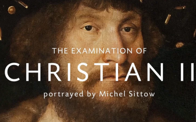 The examination of Christian II portrayed by Michel Sittow