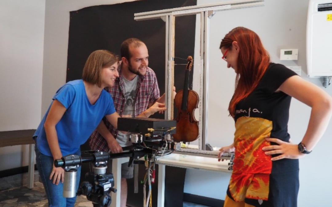 thickNESS – Non-invasive Examination of Stratigraphic System in violins