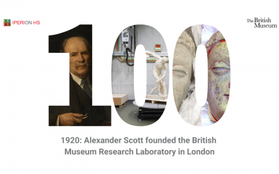 IPERION HS celebrates a 100-years old ARCHLAB provider: The British Museum Research Lab