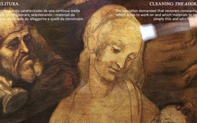 The restoration of Leonardo Da Vinci's Adoration of the Magi:  unveiling features and secrets