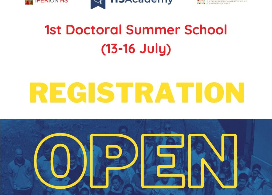 IPERION HS 1st Doctoral Summer School – July 13-16, 2021 – REGISTRATION OPEN