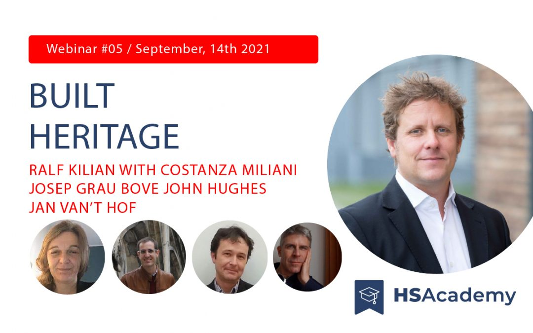 The new Iperion HS webinar on Built Heritage research and conservation  is coming on September 14th at 3 pm CEST