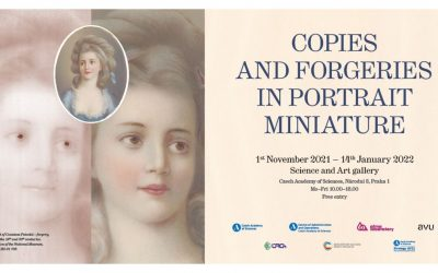 Exhibition at the Czech Academy of Sciences in Prague: Scientific analyses applied on portrait miniatures